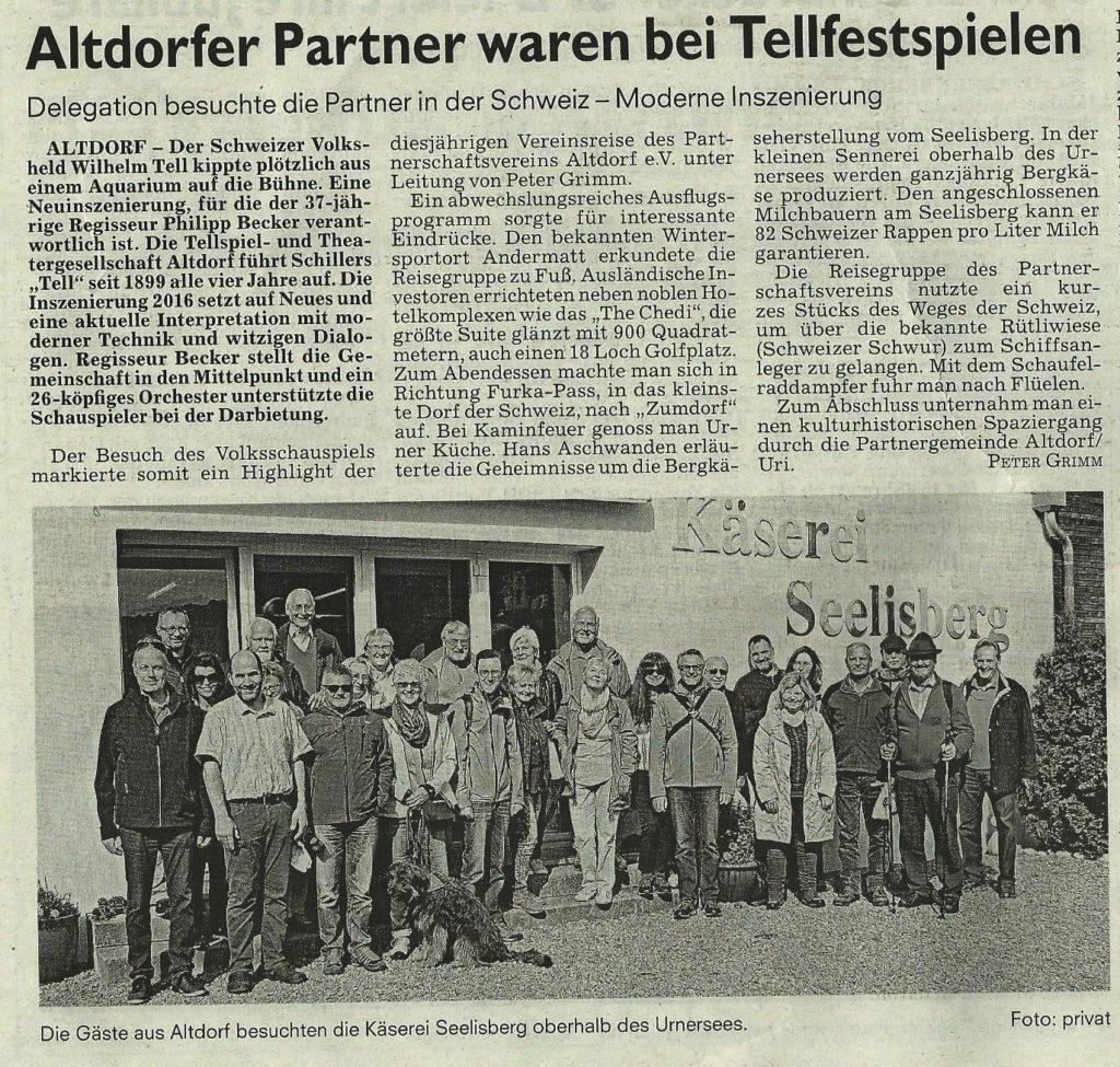 Käserei Aschwanden Selisberg